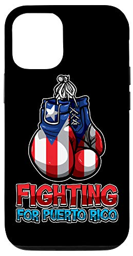 iPhone 12/12 Pro Fighting For Puerto Rico - Puerto Rican Flag - Boxing Case