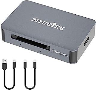 قارئ بطاقات CFexpress ، USB إلى CFEXAAB، محول بطاقة الذاكرة ألومنيوم 10 جيجا بايت في الثانية، يدعم منفذ USB ، النوع C Thun...