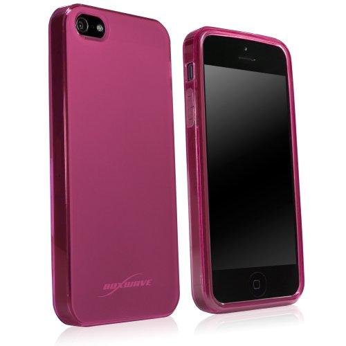 Boxwave Arctic Frost iPhone 5S/5cristallo antiscivolo–Design sottile del gel TPU per presa gommata antiscivolo durevole e protezione–Apple iPhone 5S/5custodie e cover (Cosmo rosa)