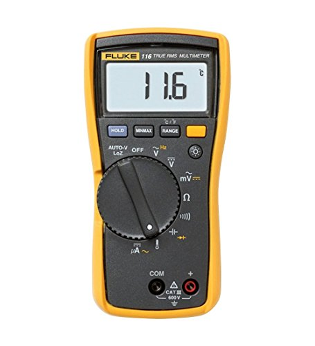 Fluke 116 HVAC Multimeter with Temperature and Microamps -