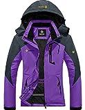 GEMYSE Women's Mountain Waterproof Ski Snow Jacket Winter Windproof Rain Jacket...