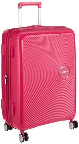 AMERICAN TOURISTER Soundbox - Spinner 67/24 Expandable Equipaje de mano, 67 cm, 71.5 liters, Rosa (Lightning Pink)