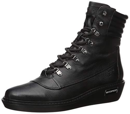Kenneth Cole New York Women's Rhyme Hiker WP Walking Shoe, Black, 7.5 Medium US
