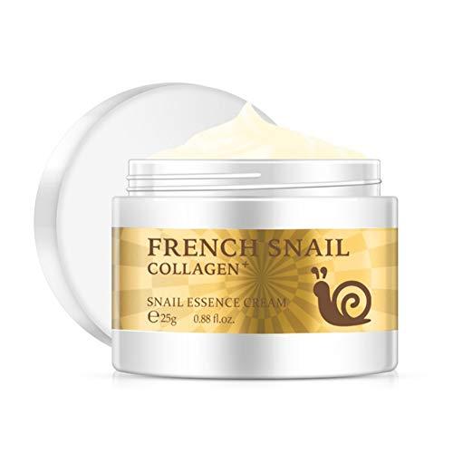 Comtervi 25g crème d'escargots, crème hydratante pour le visage crème anti-âge pour le visage anti-âge pour peau de rajeunissement