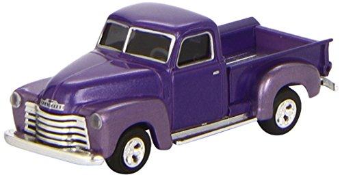 Busch Voitures - BUV48233 - Modélisme - Chevrolet Pick-up - 1950 - Violet Métallisé