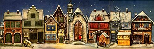 Adventskalender 'Die kleine Stadt' von 1946