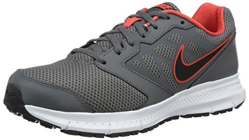 Nike Downshifter 6, Scarpe da Corsa Uomo, Grigio (Dark Grey/Black/White/Ember Glow), 42.5 EU