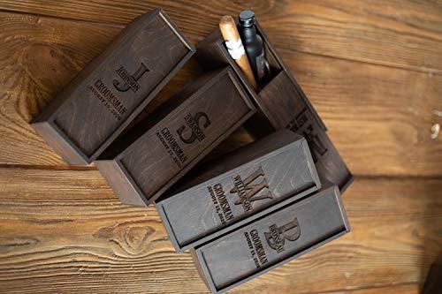 Personalizable Groomsmen Gift Box, Groomsmen Proposal, Best Man Proposal, Father of Bride Gift, Cigar Gift Box, Father of Groom Gift, Keepsake box
