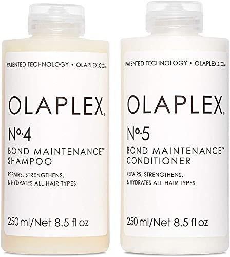 OLAPLEX No.4 And 5 Bond Maintenance Shampoo And Conditioner