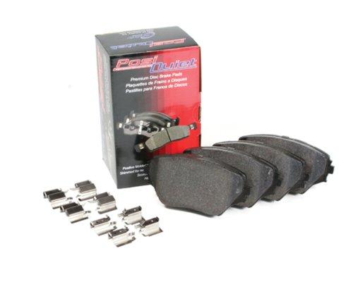 Centric Parts 106.13240 106 Series Posi Quiet Semi Metallic Brake Pad