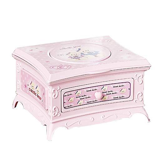 Nati Magic,Diy Music Box Girl Musical Box Dad to Daughter Musical Box Children's Portable Toys Birthday Christmas Valentine's Da