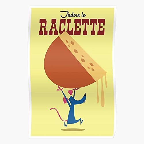 Generic Fromage Dairy Reblochon Drink Food Cheese Retro Raclette and I Fsgteam- Home Decor Wall Art Print Poster !