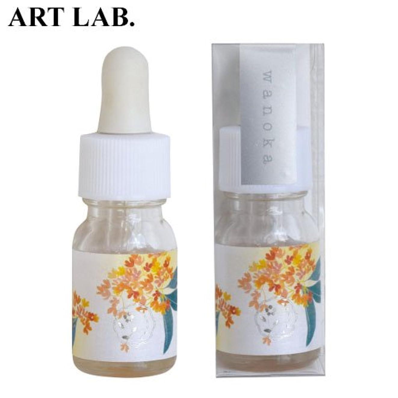 ダウンノート潜水艦wanoka香油アロマオイル金木犀《果実のような甘い香り》ART LABAromatic oil