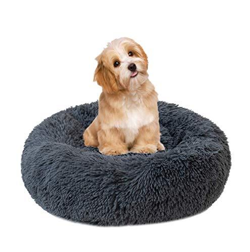 Monba Haustierbett für Hunde und Katzen, weich, waschbar, rutschfeste Unterseite, für kleine mittelgroße und große Hunde