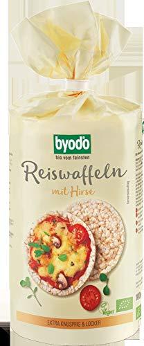 Byodo Bio Reiswaffeln mit Hirse (6 x 100 gr)