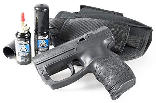 Security-Discount Germany - Walther PDP/PGS inkl. 2X Kartuschen, HQ-Gürtelholster mit Kartuschenhalter