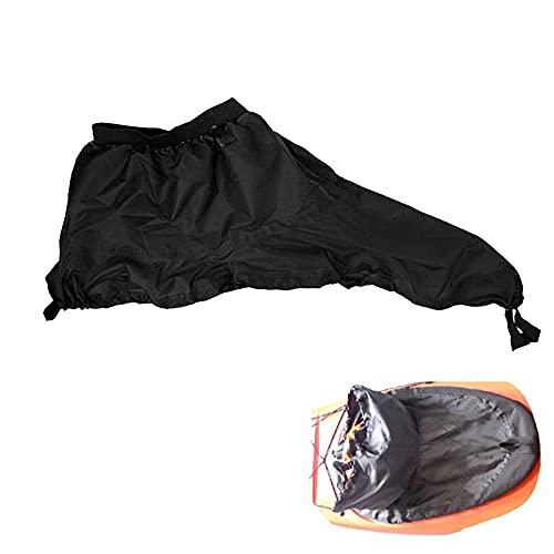 Accesorios para Kayak Falda Impermeable Falda de la Cubierta SpraySkirt Cockpit Deck Funda para Canoa Kayak (Color : Size L)