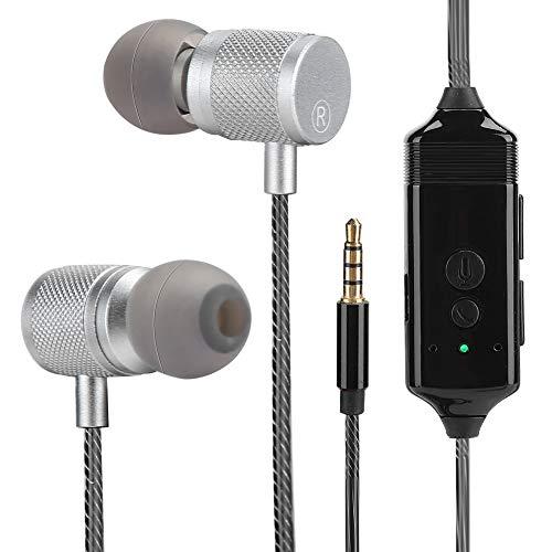 T angxi Auriculares de grabación de Llamadas de Voz del teléfono, gestión de Aplicaciones Auriculares de reducción de Ruido de grabación de Voz Bluetooth USB Recargable Auricular para iOS