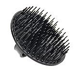 Denman D6 - Cepillo de plástico para aplicar champú y masajear, color negro