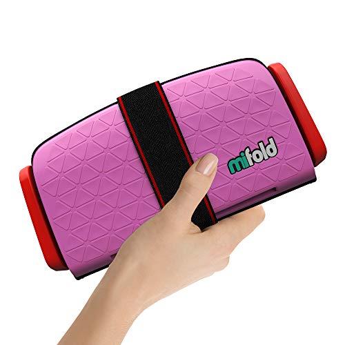 Mifold - Sistema retencion infantil elevador plegable pink rosa