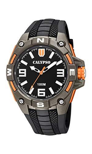 Calypso Watches Reloj Analógico para Hombre de Cuarzo con Correa en Plástico K5761/4