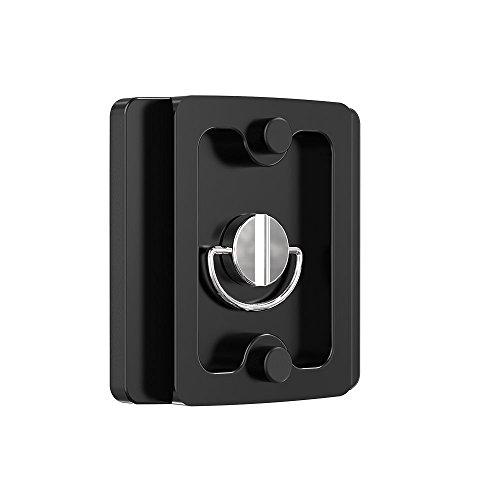K&F Concept® RQ50 professionelle Kamera Schnellwechselplatte Kameraplatte aus massivem Aluminium für alle Kameras mit 1/4
