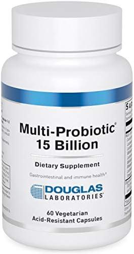 Douglas Laboratories Multi Probiotic 15 Billion Multi Strain Probiotic with Prebiotic FOS 60 product image
