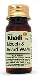 itchy beard phase - mustache and beard wash
