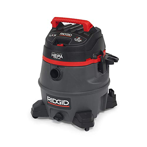 Ridgid 50368 RV2400HF HEPA Wet/Dry Vacuum, 14 gal, Red