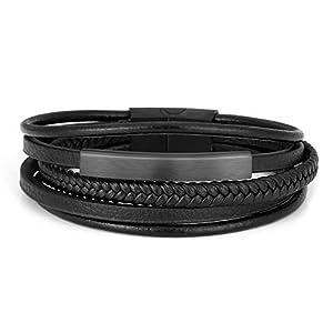 Jovivi 2 Pcs Unisex Bead Bracelet 5