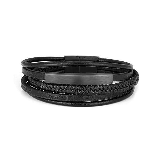 Jovivi 2 Pcs Unisex Bead Bracelet 1