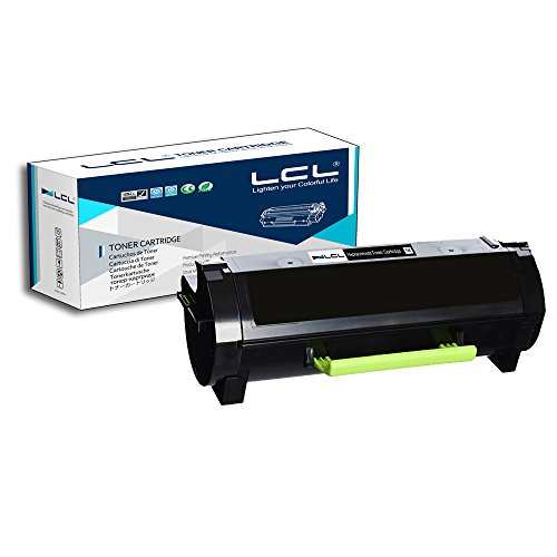 LCL Compatible Toner Cartridge Replacement for Lexmark 50F1H00 50F1000 501H 501 5000pages MS310 MS310d MS310dn MS312 MS312DN MS315 MS315dn MS410d MS410dn MS415DN MS510dn MS610DN (1-Pack Black)