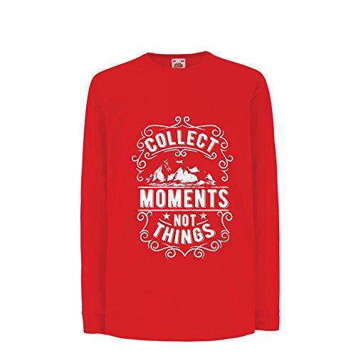 lepni.me kinder-T-shirt met lange mouwen inspirerende reiscitaten verzamelen