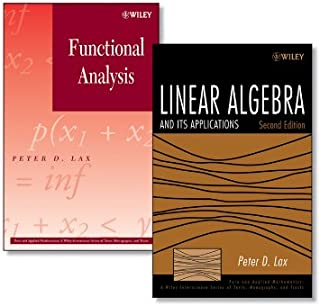 Linear Algebra and Its Applications, 2e + Functional Analysis Set