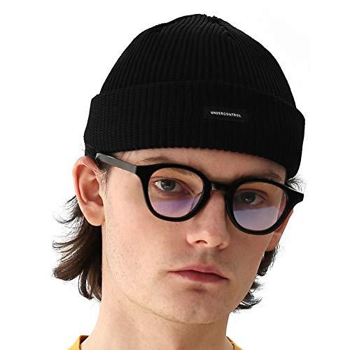 UNDERCONTROL Aerocool Summer Beanie Free Size Cooling for Men Women - Unisex Plain Skull Hat Cap - Made in Korea (Black)