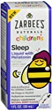 Zarbee's Naturals Children's Sleep Liquid with Melatonin Natural Berry Flavor - 1 oz, Pack of 2