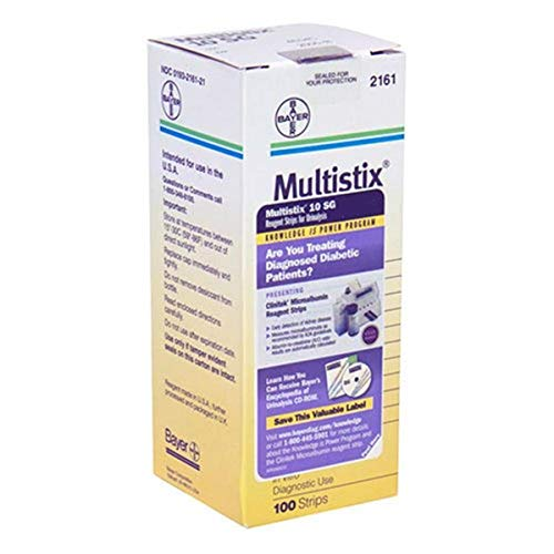 Multistix Multistix 10Sg Reagent Strips, 100 each