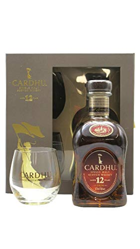 Cardhu - Single Malt Scotch & 2 Glasses Gift Set - 12 year old Whisky