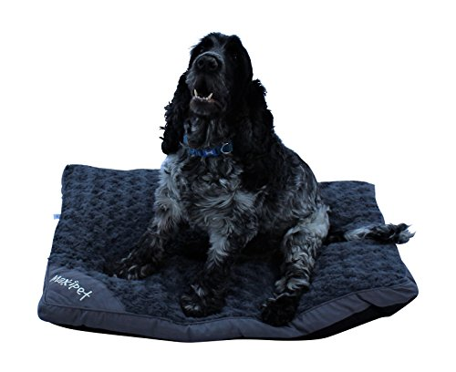 HOME HUT FUR DOG CAT PET BED MATTRESS WASHABLE PILLOW CUSHION SOFT WARM BED GREY (medium)