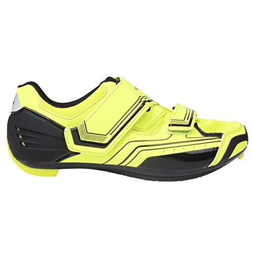 Muddyfox Mens RBS100 Cycling Shoes Breathable Cycle Bike Sport New Yellow UK 7 (41)