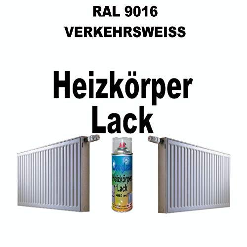 Heizkörperlack Spray RAL 9016 VERKEHRSWEISS 400 ml