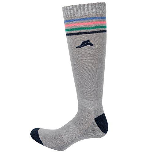 Euro-Star Cotton Stripe Socks M grey mel