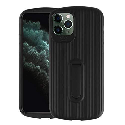 iPhone 11 pro Coque Case TPU Housse de Protection Antichoc à Double Couche pour l'Ensemble du matériel Design Ultra-Mince Plastique Robuste Durable Case pour iPhone 11 pro (noir)