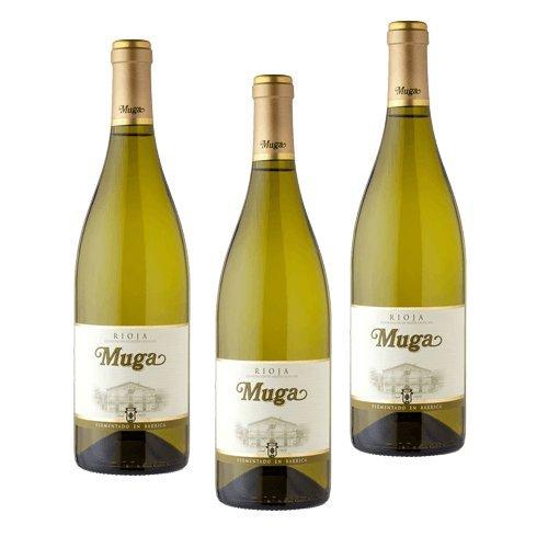 Muga Fermentado Barrica - Vino Blanco - 3 Botellas