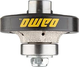 DAMO 3/8 inch Demi Bullnose Half Bullnose Roundover Coarse Diamond Hand Profiler Router..