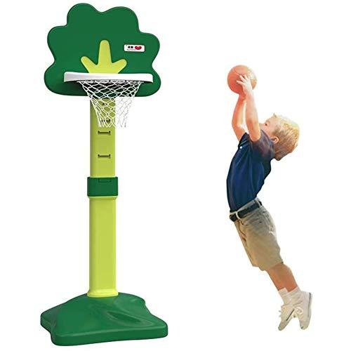 DXQDXQ Baloncesto Canasta Baloncesto Infantil Altura Ajustable Tablero Infantil Baloncesto Juego Al Aire Libre y Interior Jardín Conjunto