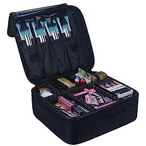 Beauty Shopping Relavel Travel Makeup Train Case Makeup Cosmetic Case Organizer Portable Artist Storage