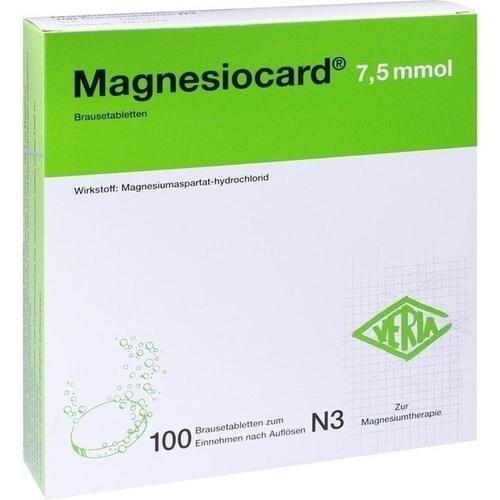 MAGNESIOCARD 7.5 MMOL 100St 0110303