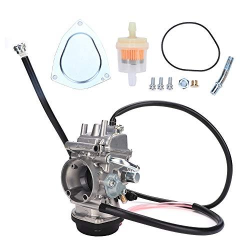 Gorgeri Carburador Carb, Carburador de goma/aluminio Accesorio de repuesto para LTZ 400 ATV QUAD 2003 2004 2005 2006 2007