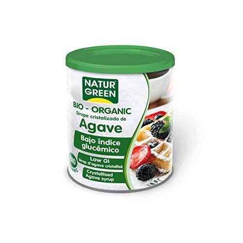 Sirope Cristalizado de Agave Bio Naturgreen 500 g